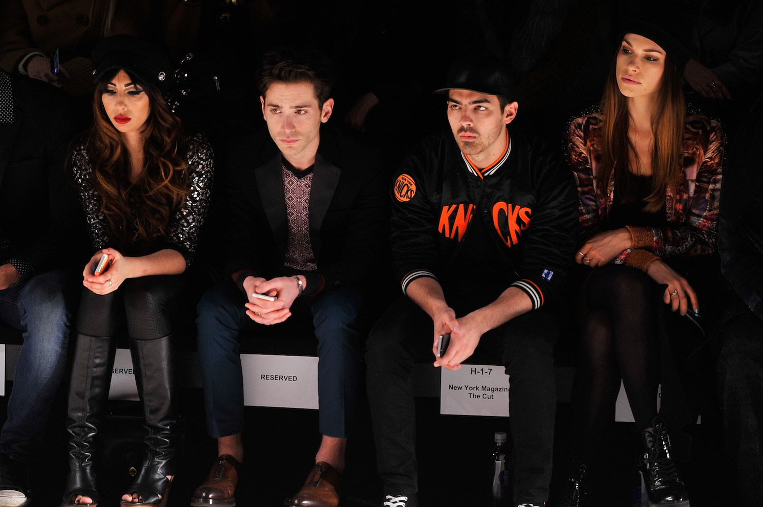 Custo Barcelona - Front Row - Mercedes-Benz Fashion Week Fall 2014
