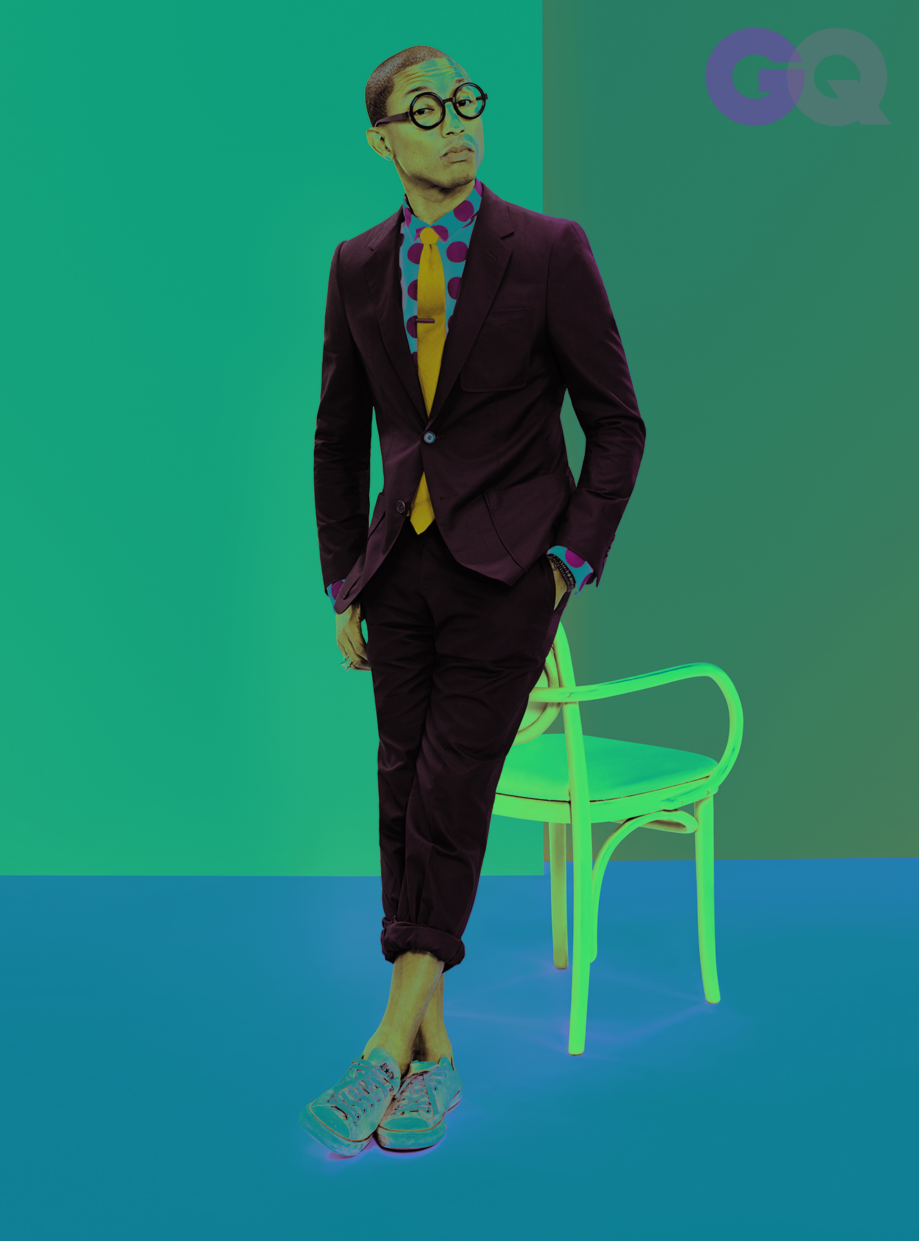 Pharrell Williams Style - GQ