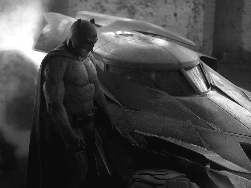Ben Affleck's batsuit 2014
