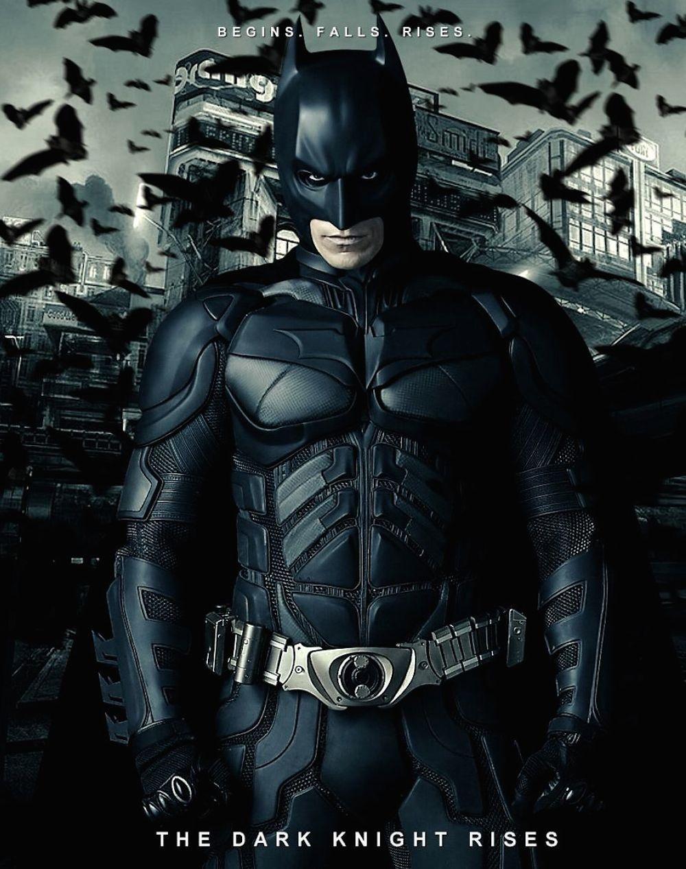 Christian Bale's batsuit
