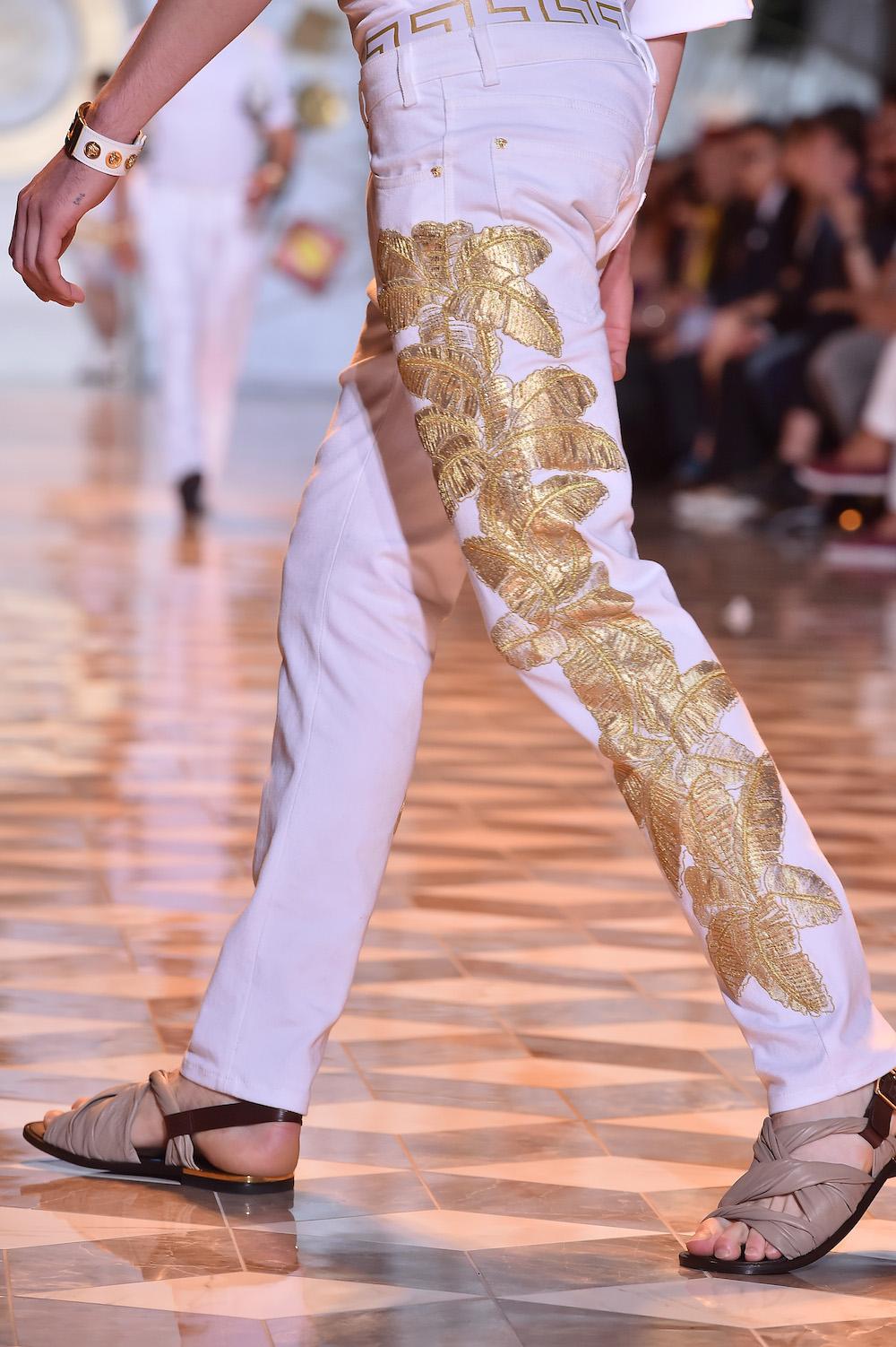 Versace - Runway - Milan Fashion Week Menswear Spring/Summer 2015