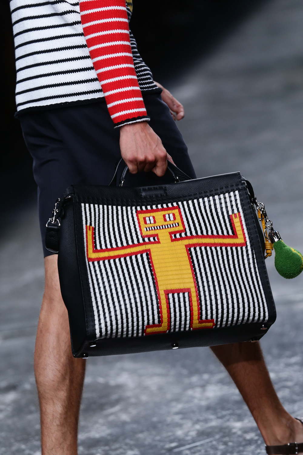Fendi - Runway - Milan Fashion Week Menswear Spring/Summer 2015