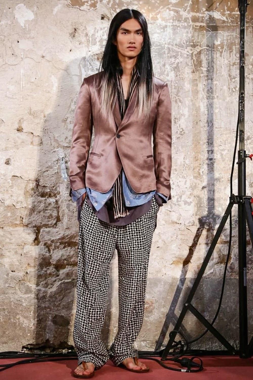 RYOHEI YAMADA for Haider Ackermann S_S 2015 Paris