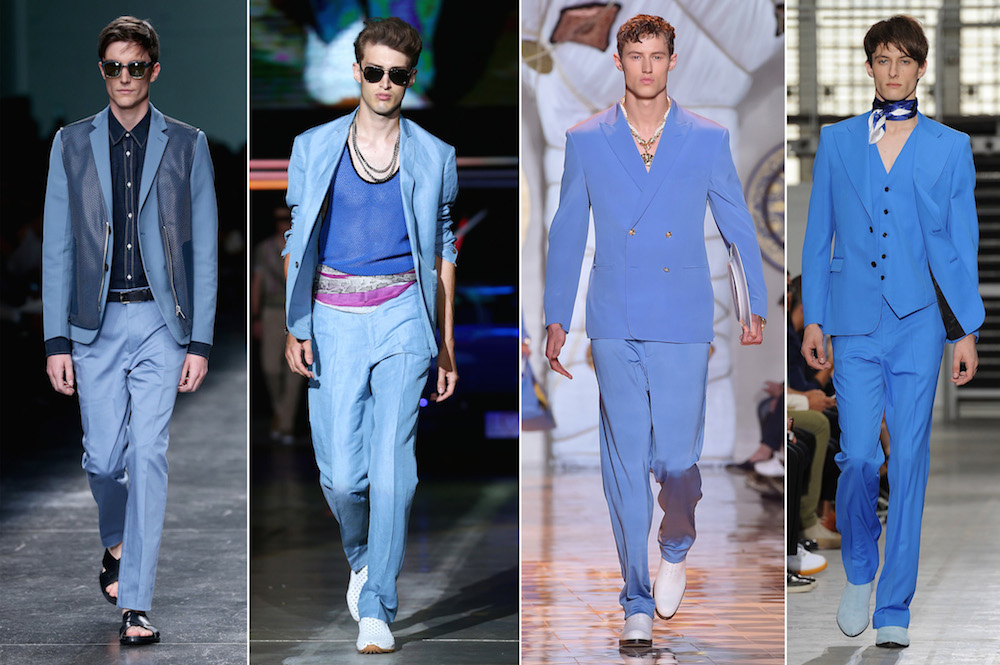 Latest Men Fashion Trends 2015 a major trend at Milan