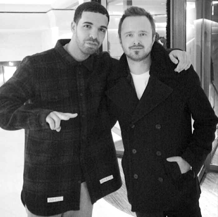 12 Lessons All Men Could Learn From Aaron Paul - Drake-ing Bad - Hang With Fellow Sad Boys