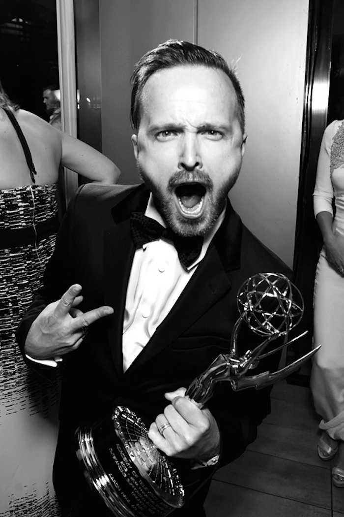 12 Lessons All Men Could Learn From Aaron Paul - Don't Be affaired To Show Extreme Excitement