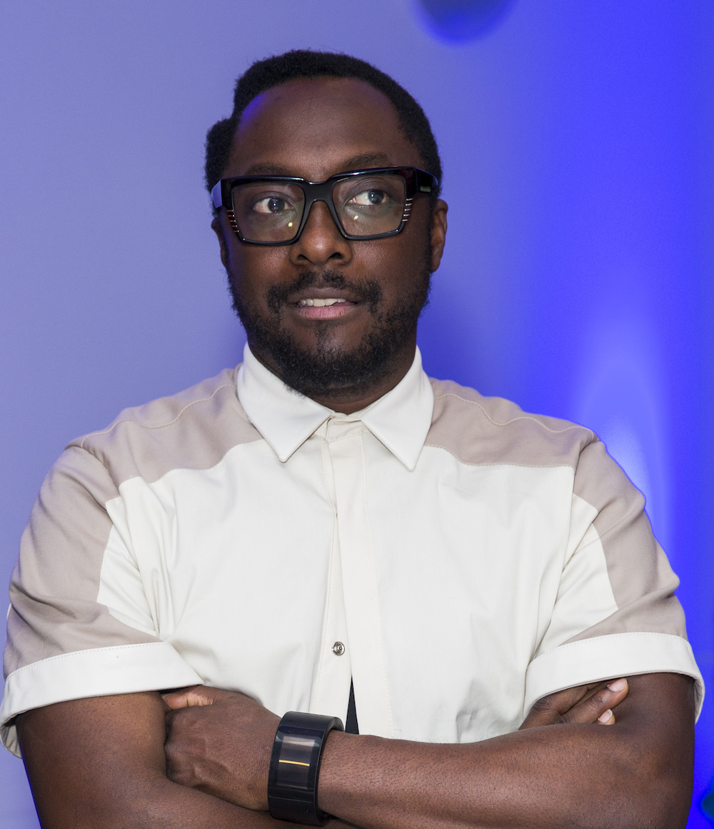 Will.I.am Meets Prince's Trust Members
