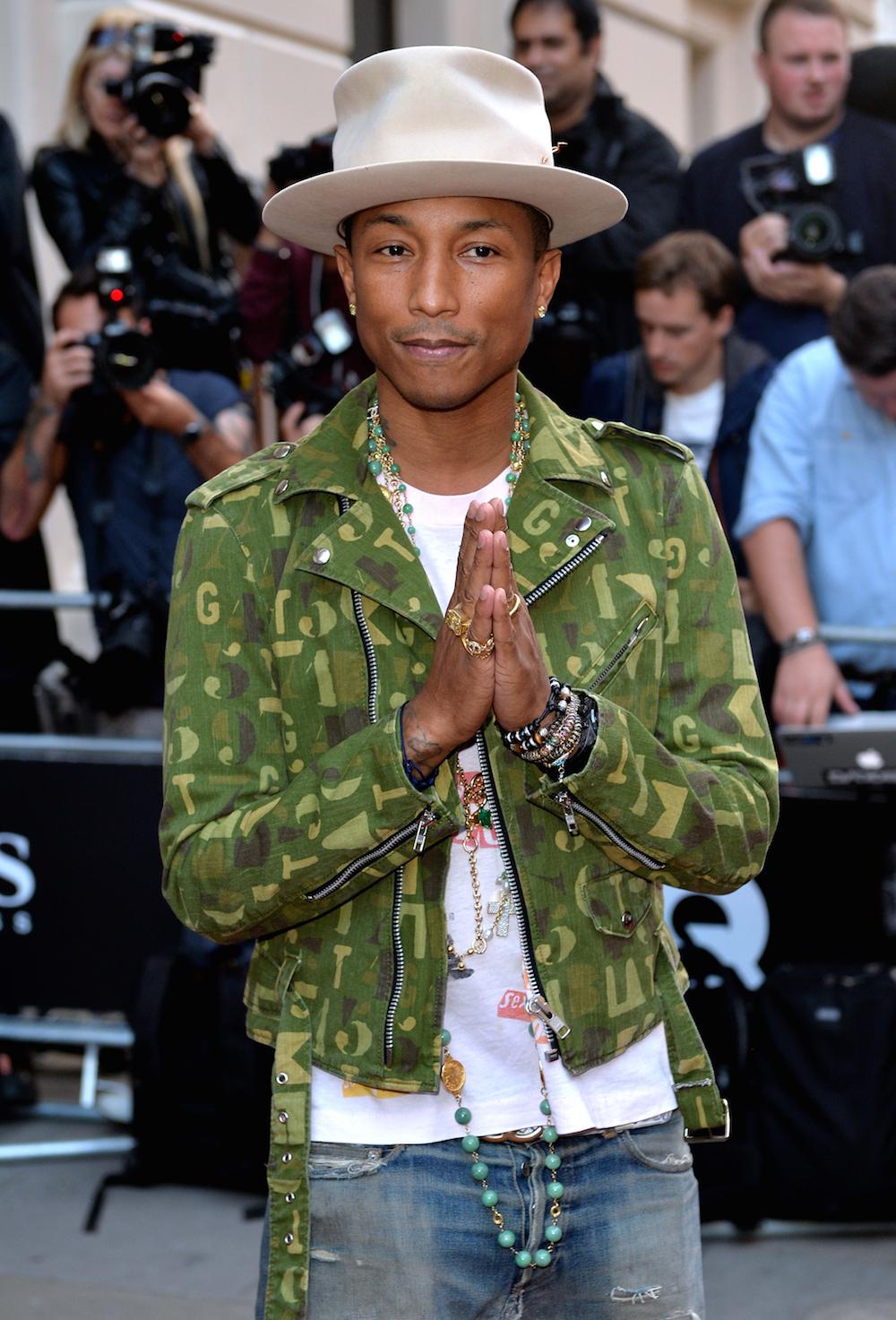 Pharrell Wiliams - GQ Men Of The Year Awards - Red Carpet Arrivals