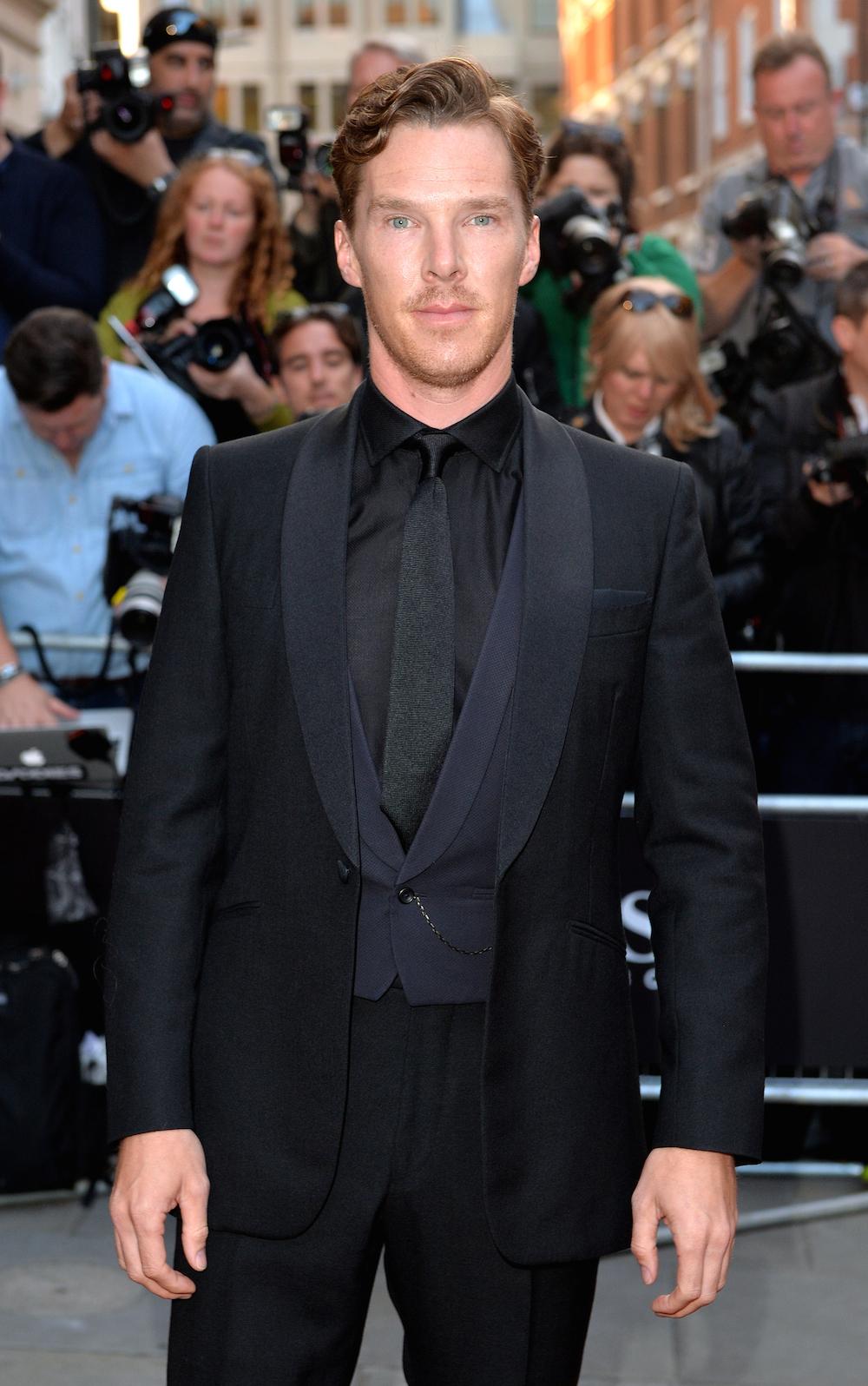 Benedict Cumberbatch - GQ Men Of The Year Awards - Red Carpet Arrivals