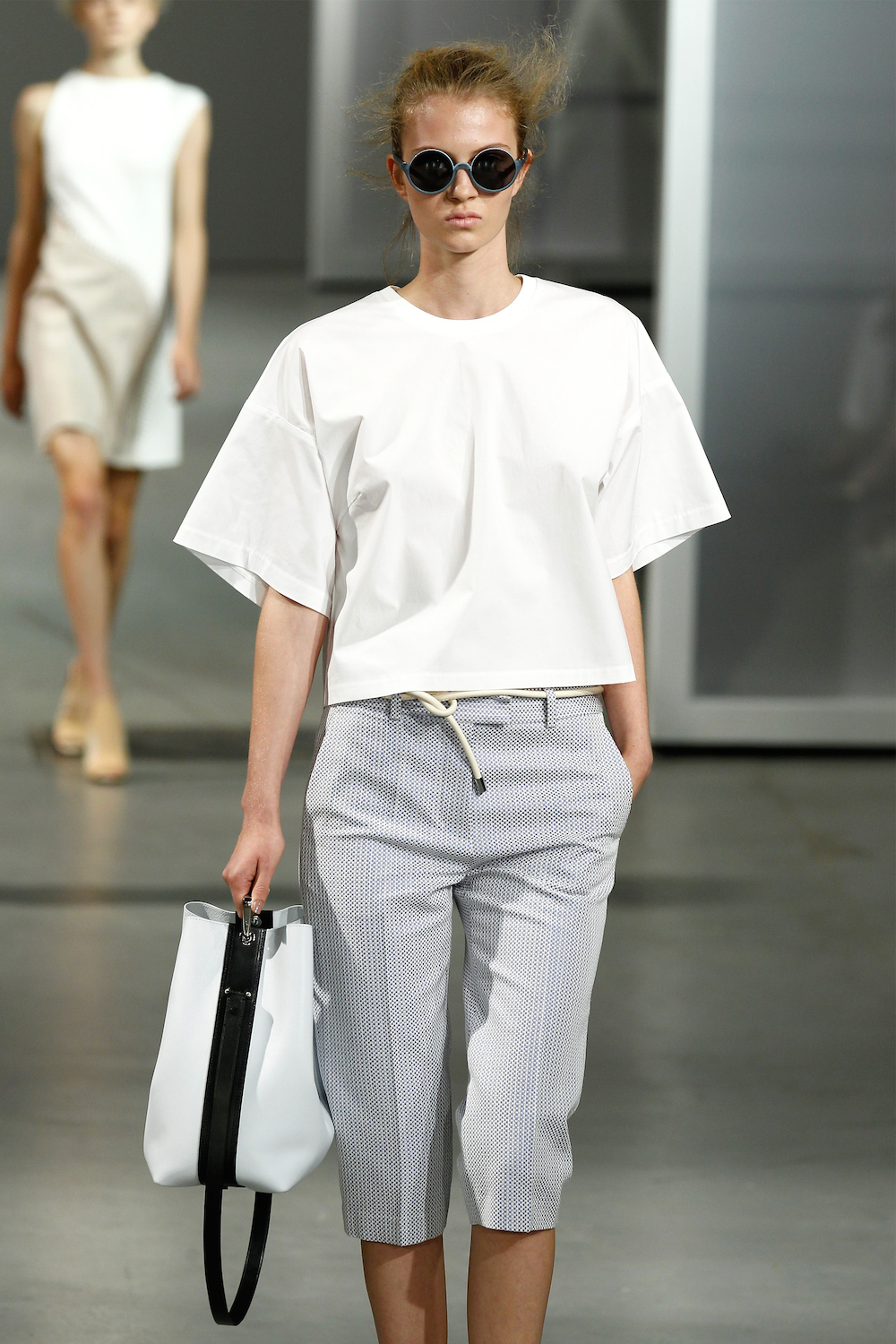 TRESemme at 3.1 Philip Lim Spring Summer 2015 - Runway