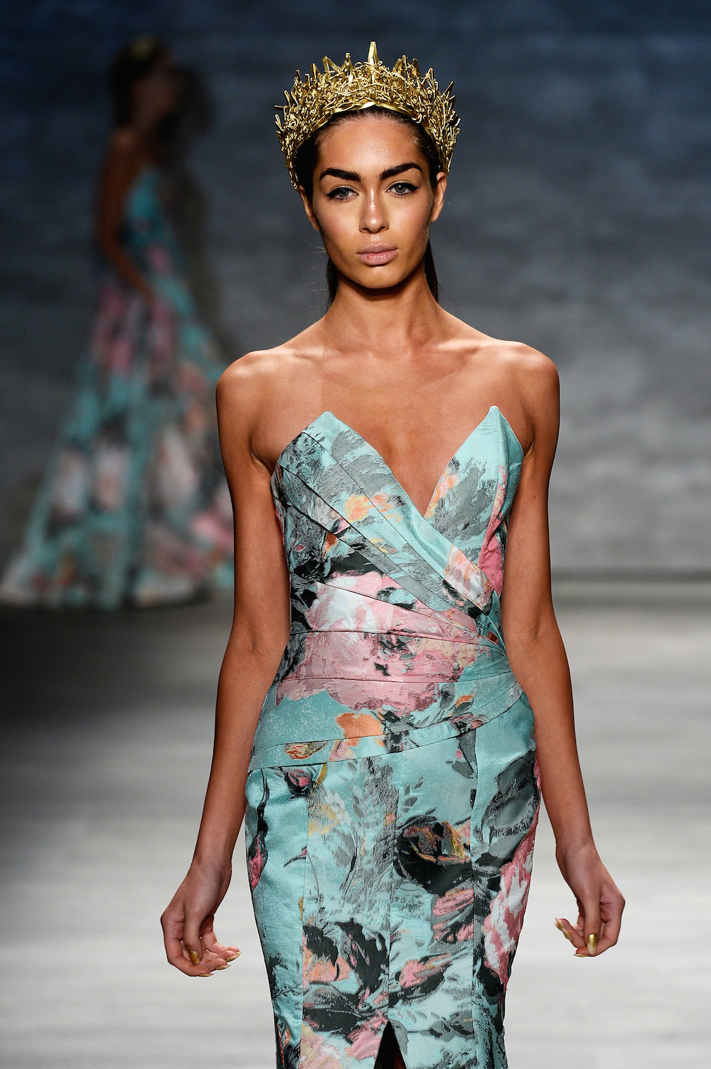 Michael Costello - Runway - Mercedes-Benz Fashion Week Spring 2015