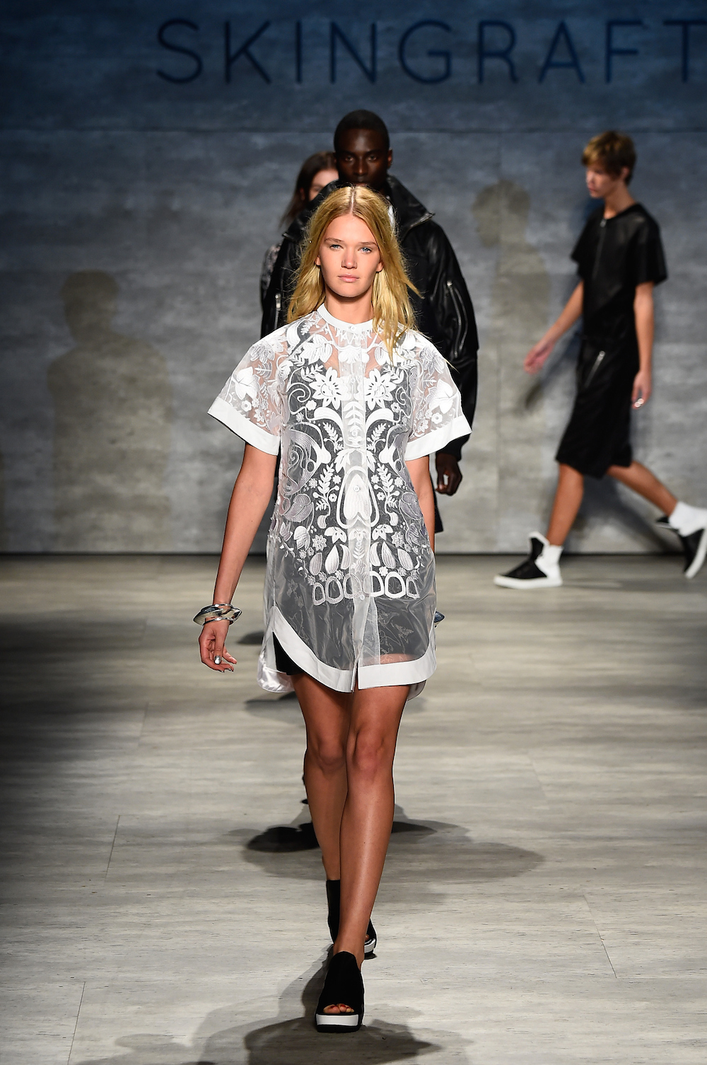 Skingraft - Runway - Mercedes-Benz Fashion Week Spring 2015