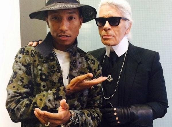 Pharrell-Karl-Lagerfeld