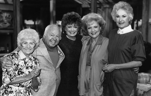 Bea Arthur, Rue McClanahan, Betty White, Estelle Getty, Mickey Rooney