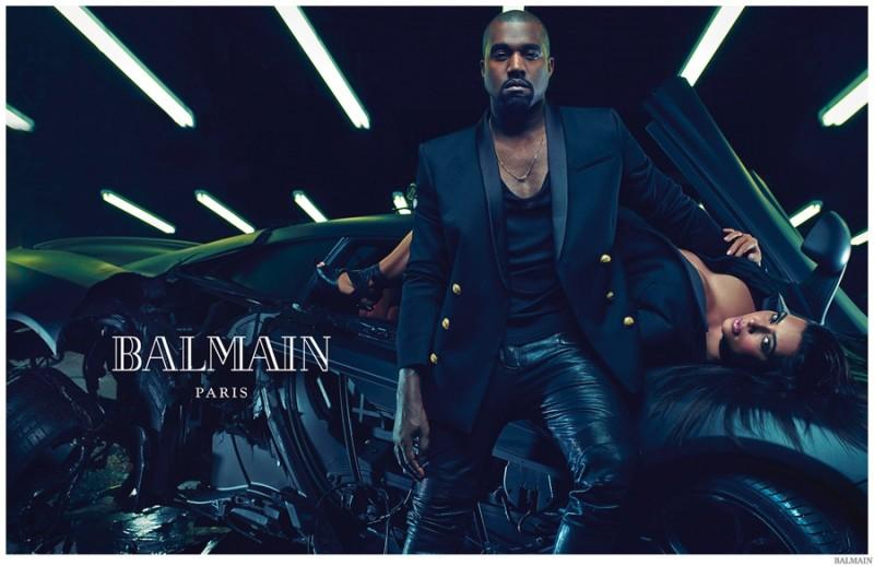 Balmain-Spring-Summer-2015-Mens-Campaign-Kanye-West-Kim-Kardashian-001-800x518