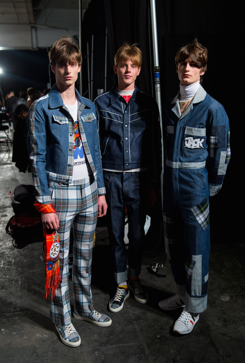 TOPMAN Design: Backstage - London Collections: Men AW15