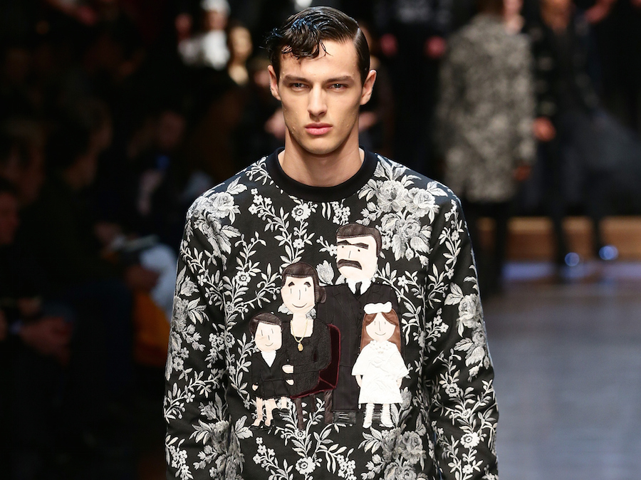 DOLCE GABBANA DOLCE GABBANA - Runway - Milan Menswear Fashion Week Fall  Winter 2015 2016 0e7fd41be51