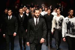 DOLCE&GABBANA - Runway - Milan Menswear Fashion Week Fall Winter 2015/2016