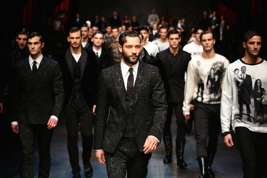 DOLCE&GABBANA - Runway - Milan Menswear Fashion Week Fall Winter 2015/2016