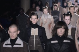 Rick Owens : Runway - Paris Fashion Week - Menswear F/W 2015-2016