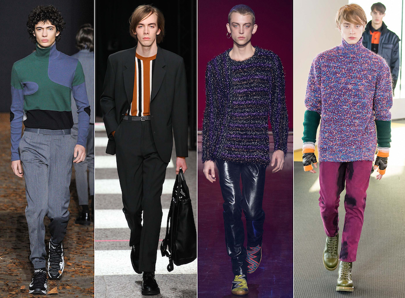 '70s knits - Dior Homme, Paul Smith, Martin Margiela, Kenzo