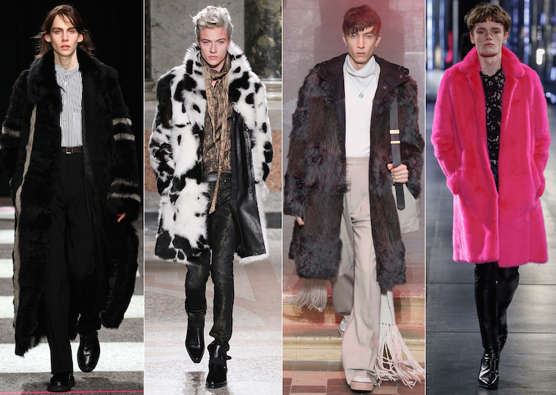 Luxe Fur - Paul Smith, Roberto Cavalli, Lanvin, Saint Laurent