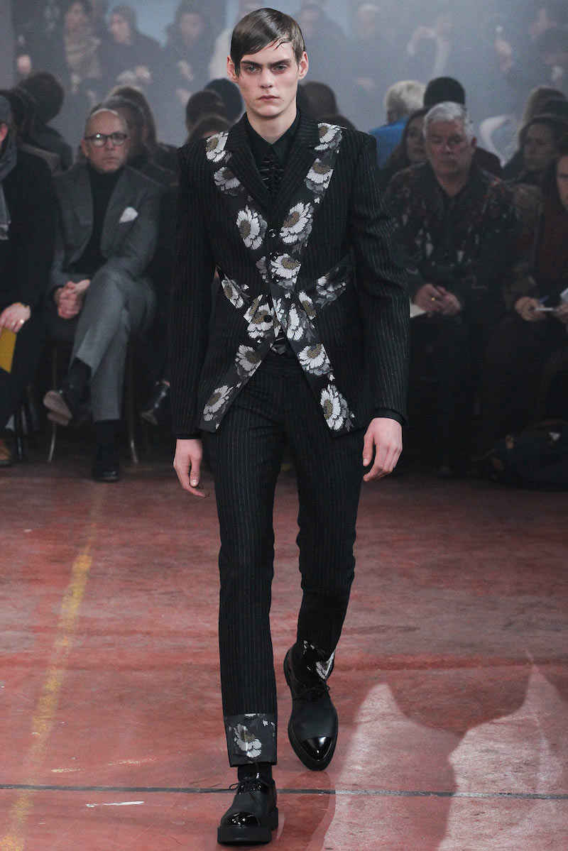 The Alexander McQueen Men's Fall/ Winter 2015 Uniform