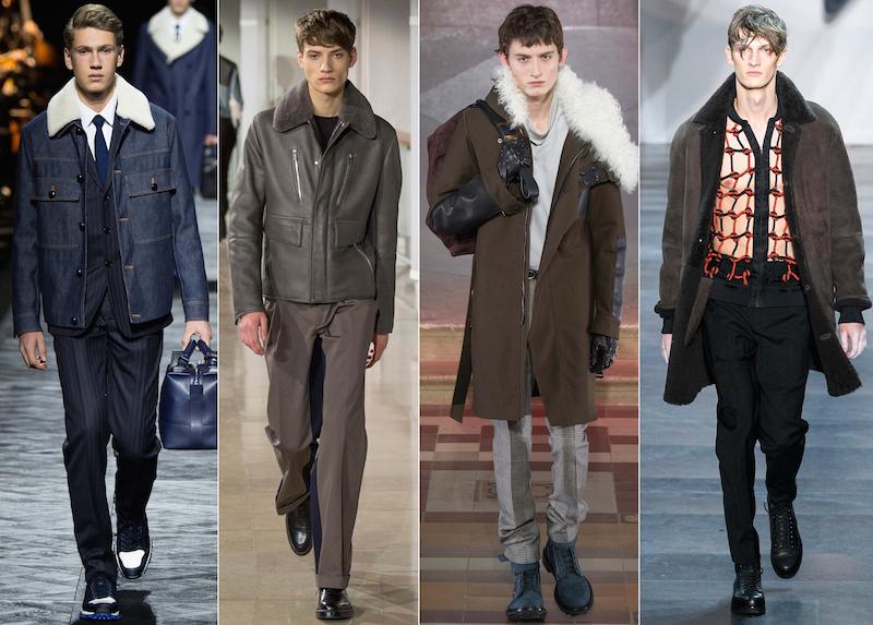 Shearling - Dior Homme, Hermes, Lanvin, 3.1 Phillip Lim