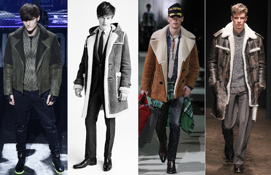 Shearling - Philipp Plein, Tom Ford, Dsquared², Salvatore Ferragamo