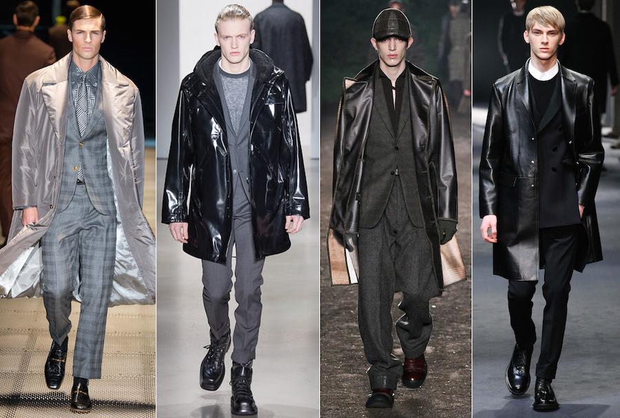 Techy Futuristic - Versace, Calvin Klein Collection, Ermenegildo Zegna, Neil Barrett