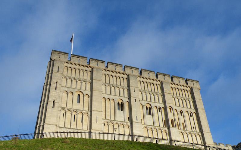 Norwich-Castle-Norfolk-England