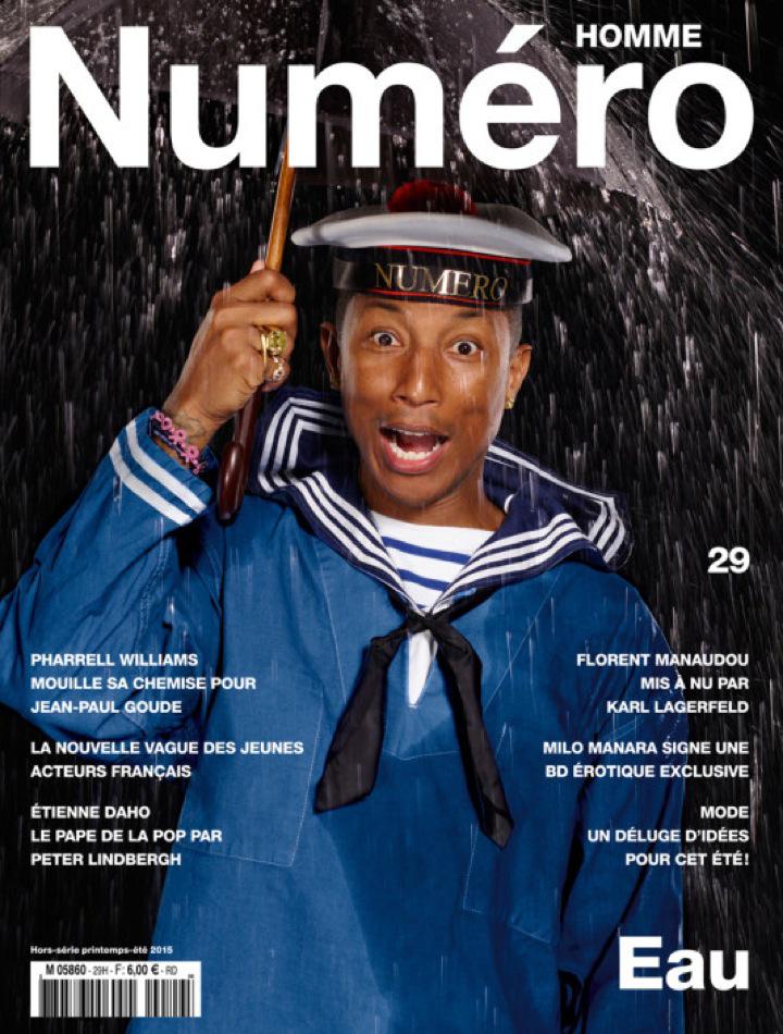 Pharrell-Numero-Homme-Spring-Summer-2015-Cover
