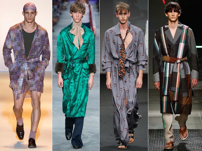 Versace, Gucci, Viv West, Etro