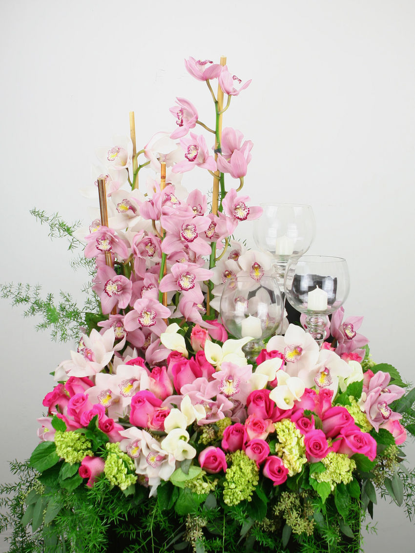 Wedding Flowers Los Angeles Cost : Ocv s guide to florists in la oyster colored velvet