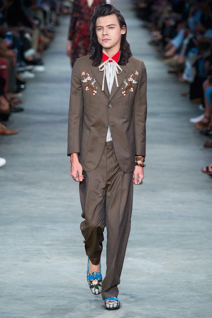 Harry Styles In Gucci Spring 2016 A Hypothetical Lookbook