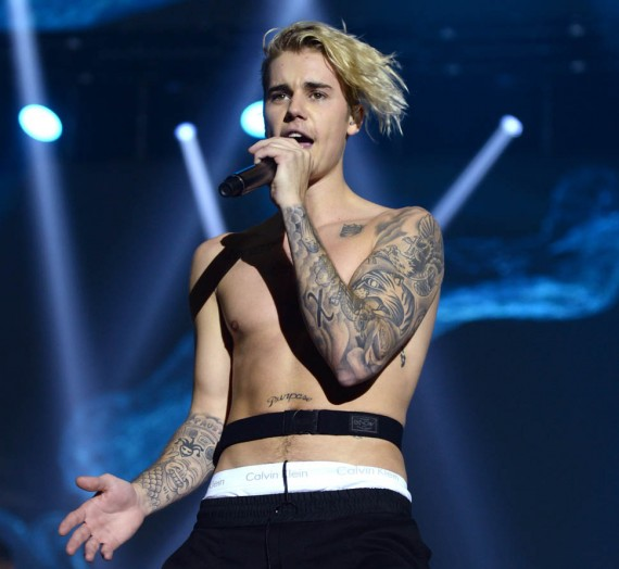 Dec 06, 2015; London, UK; Justin Bieber performs on stage during the Capital FM Jingle Bell Ball 2015 held at The O2 Arena, London. .Photo credit should read: Doug Peters EMPICS Entertainment.  Mandatory Credit: Photo by Doug Peters/EMPICS Entertainment/KEYSTONE Press © Copyright 2015 by EMPICS Entertainment