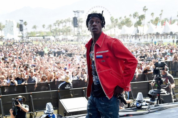 INDIO, CA - APRIL 15:  Recording artist Joey Bada$$ performs onstage during day 1 of the 2016 Coachella Valley Music & Arts Festival Weekend 1 at the Empire Polo Club on April 15, 2016 in Indio, California.  (Photo by Kevin Winter/Getty Images for Coachella)