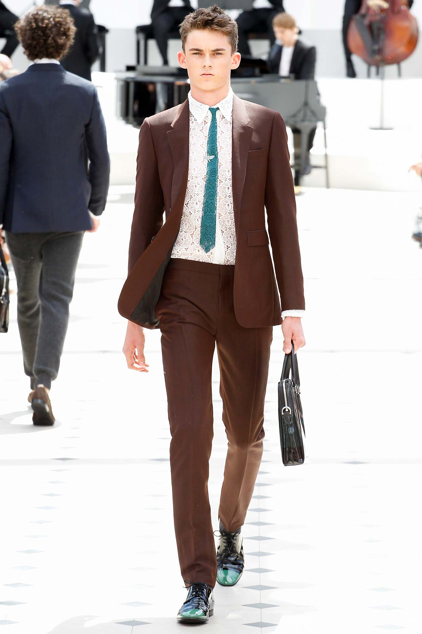 Breaking Summer Suiting Rules: Brown Suit